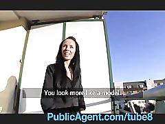 Publicagent stunning estate agent sells herself
