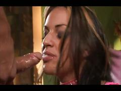 Pussy playing brunette enjoys hardcore anal sex