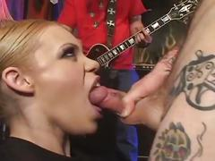 alt porn, blonde, public sex, emo, exhibit, platinum blonde, public, punk, tattoos