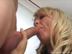 blonde, hardcore, milf, old & young, pornstar, chennin blanc, doggy style, missionary, mom, old woman young man, platinum blonde, spoon