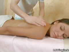 Virgin fiona massaged and fucked
