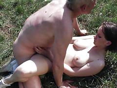 Having sex on the grass is awesome
