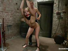 Bubble butt cutie punished and fucked