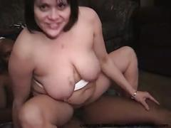 Anal latina housewife gangbang