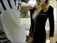 Teen 18 yo fucked in office by troc