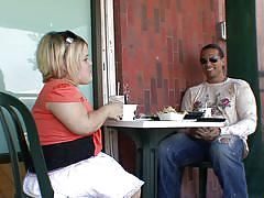 blonde, midget, blowjob, seduce, lunch, bang a midget, stella marie, nick manning