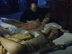 Angelica bella and zara whites in a classic italian movie