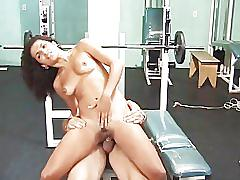 Workout and fuck - scene 1