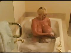 Woman on bath...