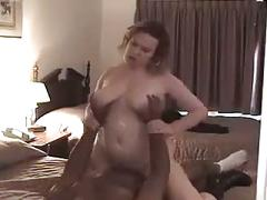 Bbw white wife fucked hard and takes cream pie