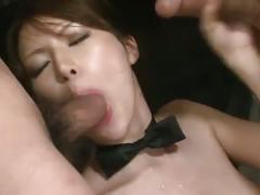 Hairy pussy japanese slut kotone aisaki gang fuck