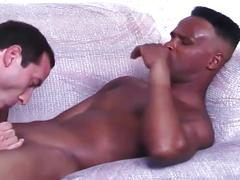 Dilf hungers for cock action with his horny dude