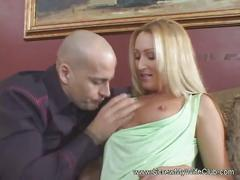 Blonde wife fucks porn dude