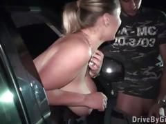 Busty girl krystal swift with big tits public gangbang orgy with big dick