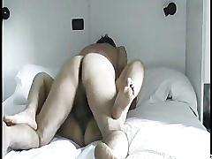 Older amateur couple sex tape