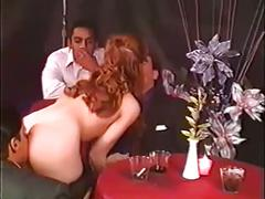 double penetration, redheads, vintage
