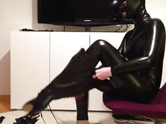 foot fetish, german, latex, lingerie, stockings