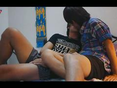 Blowjob session with horny asian boys