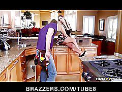 Sexy brunette daughter lylith lavey is fucked by her dad's friend