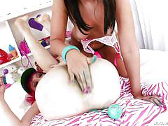 Girlish sluts like it in the ass @ anal acrobats #07, scene #04
