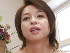 Japanese mature has sexual cravings