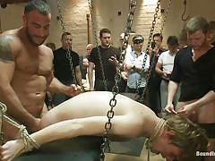 cumshot, humiliation, sexy ass, gay blowjob, gay anal, suffocation, pink lips, gay gang bang, tied hands, spencer reed, brian bonds, noah brooks, bound in public, kinky dollars