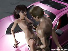 big tits, street, kinky, eating pussy, 3d hentai, tattooed, night, missionary, from behind, car sex, brunette babe, animated kink, kinky dollars