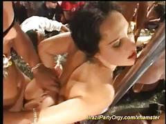Zumba fuck fest orgy