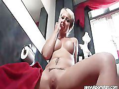 British blonde pornstar tracy venus in the shower