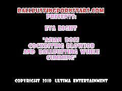 Brutal femdom ball busting 08 - scene 4