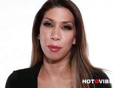 Busty latina porn slut kayla carrera pussy play