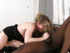 Dude watches wife get black cock