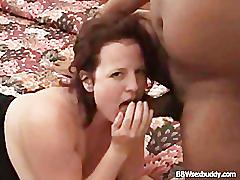 mature, oral, blow-job, fat, chubby, cumshot, booty, bbc, butt, wife, doggystyle, interracial