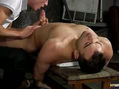 Boynapped.com: hung luke rides hard matt.