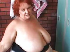Bbw redhead passion