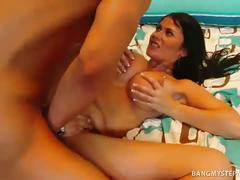 Big boobies brunette momma eva karera fucked hard