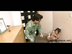 Apron-clad milf sucks the delivery man off from http://alljapanese.net