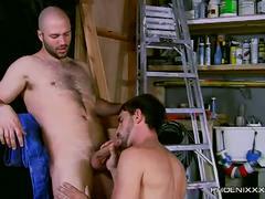 Joe and david workshop anal nailing