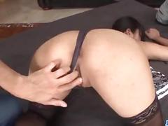 Eririka katagiri creamed on face after ravishing fuck