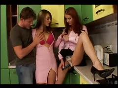 Barb n kristy russian threesome