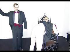 Black velvet - hard spanking
