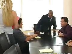 big tits, blonde, reality, blow-job, sex-in-the-office, titty-fuck, big-boobs, big-tits, stroking, shaved, cumshot, facial, cock-sucking