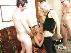 big tits, blonde, mature, pornstar, gang bang, 5 on 1, big natural tits, mature amateur, platinum blonde