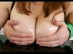 Thick fake-breasted asian fucktoy