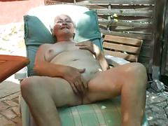grannies, masturbation, tits