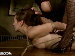 Mandy and issa's lesbian bdsm