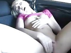 Sarah peachez car finger fuck