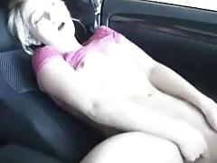 Sarah peachez car finger fuck