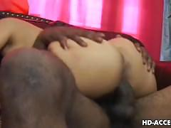 Hot asian interracial with huge cock black dude