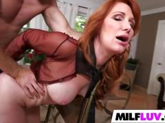 Horny redhead milf freya fantasia